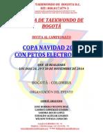 Reglamento Copa Navidad 2014