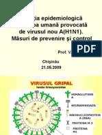 Seminar republican Gripa noua A(H1N1) 21.05.09.ppt