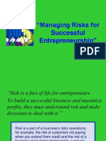 Managing Risks-successful-Entrepreneurs-JS for TSM 19May2014