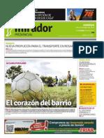 Edición impresa del 9 de noviembre de 2014