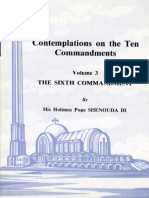 The Ten Commandments Volume III - HH Pope Shenouda III