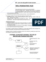 7 Master and Transaction Files