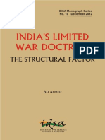 India's Limited War