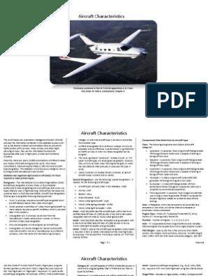 Aircraft Characteristics   Aircraft   Rotorcraft