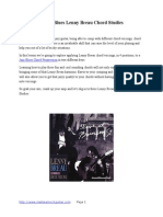 4 Jazz Blues Lenny Breau Chord Studies