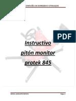Instructivo Uso de Piton Monitor