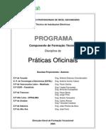 Programa Práticas Oficinais