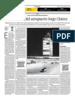 Los 55 Años Del Aeropuerto Jorge Chávez