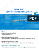 UMTS Code Resource Management