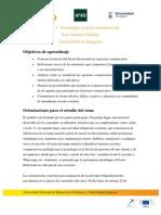 Objetivos Módulo 3 | MOOC Comunicación y Aprendizaje Móvil