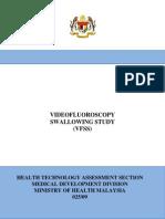 Videofluoroscopic Swallow Study -Final