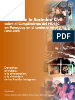 INFORME DE LA SOCIEDAD CIVIL 2000 2005 - CODEHUPY - PARAGUAY - PORTALGUARANI