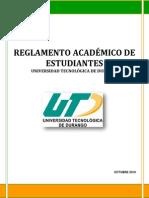 reglamento acadmico UT