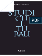 M. Cometa, Studi culturali (Guida, Napoli 2010)