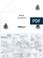 M-14 Rifle Receiver Blueprints