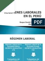 Regimenes Laborales
