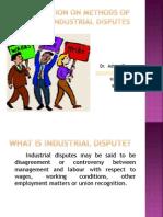 52363methods of Settling Industrial Disputes