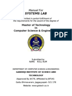 Systems Lab