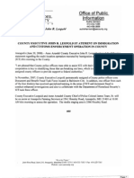 Annapolis Painting Immigration Raid - FOIA Documents