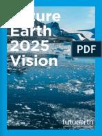 Future Earth 10 Year Vision Web