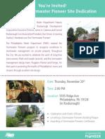 Stormwater Pioneers Invite