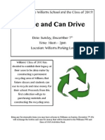 recycling day flyer