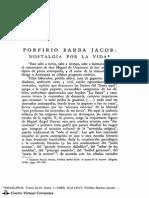 Porfirio Barba Jacob