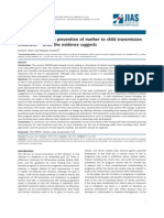 Riview_Involving fathers in prevention of mother to child transmission initiatives − what the evidence suggests