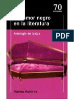 El humor negro en la literatura