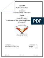 Project Report(Mybank)