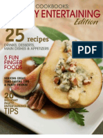 SheKnows Cookbooks Holiday Entertaining Edition