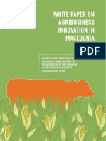 White Paper on Agribusiness Innovation in Macedonia