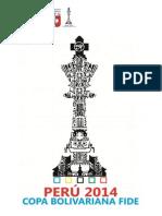 BASES - Copa Bolivariana FIDE 2014