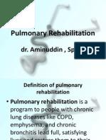 Pulmonary Rehabilitation PP