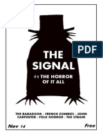 THE SIGNAL #1 - THE HORROR OF IT ALL (NOV 14)