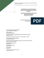 Lectura 3 y Lectura 4 Modelos de Desarrollo Rural Con Enfoque Territorial