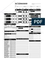D&D 4e Character Sheet Automated