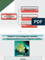 Diapositivas Sobre La Investigación Cientifica