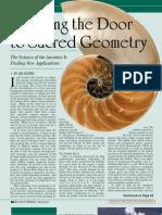 Opening the Door to Sacred Geometry