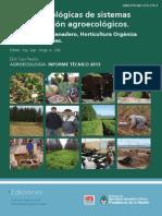 Bases tecnologicas de sistemas de producción agroecológicos