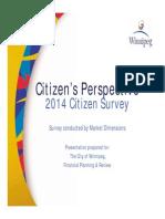2014 Citizen Survey
