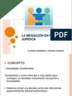 La Mediación en Psicología Jurídica