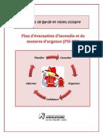 CSDN Plan d Evacuation d Incendie Et Mesures d Urgence