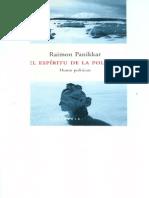 Panikkar Raimon - El Espiritu de La Politica