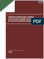 OBSTACULOS INSTITUCIONALES Y JURIDICOS - CODEHUPY - PARAGUAY - PORTALGUARANI