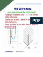 Matriz Morfologica