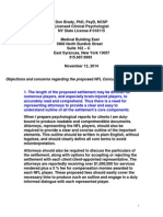 Dr Don Brady Nov 2014 Objection Filing