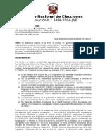 ResolucionN003486 2014 JNE Pr
