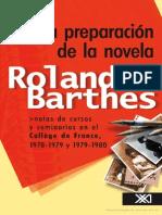 198686696 La Preparacion de La Novela Roland Barthes 1