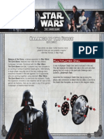 Star Wars the Card Game - Balance of the Force Rules